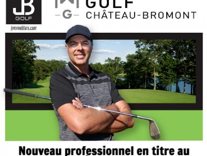 Nouveau professionnel en titre au Golf Château Bromont